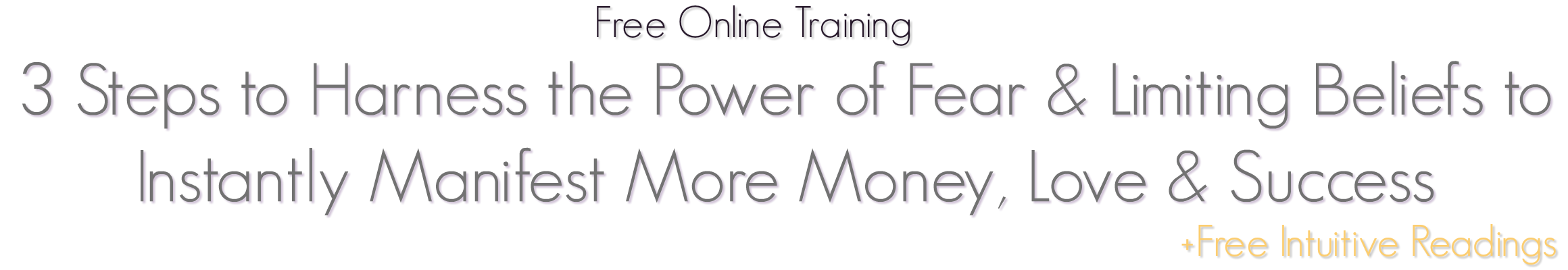 Harness the Power of Fear Free Training