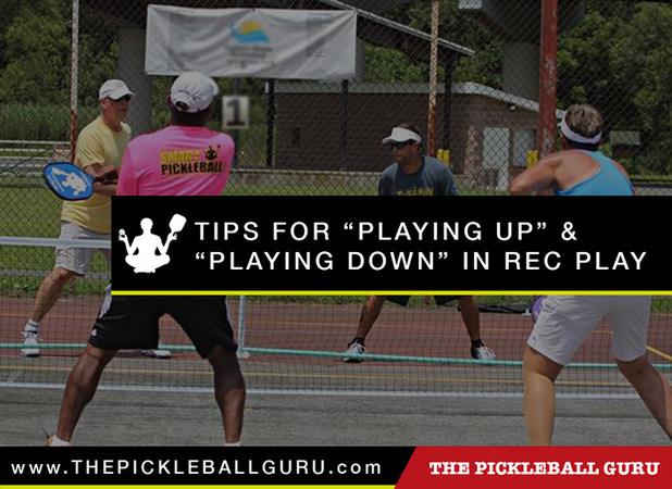 Tips for Playing Up and Playing Down in Recreational Play