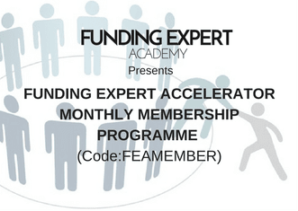 Funding Expert Accelerator programme